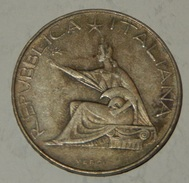 500 LIRE ITALIA - CENTENARIO 1961 - ARGENTO - SILVER -  (85) - 1946-… : République