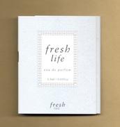 Echantillon Perfume Sample Tigette FRESH LIFE * FRESH * EDP 1,5 Ml - Perfume Samples (testers)
