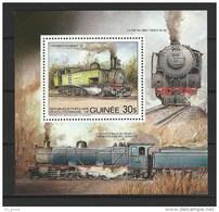 """Guinée Bloc YT 45 """" Locomotive """" 1984 Neuf** - Guinée (1958-...)"""