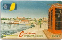 Grenada - Carenage St. Georges - 6CGRB - 1993, 20EC$, 10.000ex, Used - Grenada