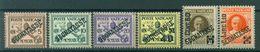 Vatican 1931 - Y & T. N. 1/6 Timbres-taxe - Pontificat De Pie XI - Strafport