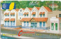 Grenada - Grentel Building - 9CGRA - 1994, 10EC$, 10.000ex, Used - Grenada