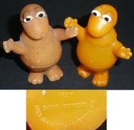 """Lot De 2 Boites En Plastique, Figurines CASIMIR """"l'ile Aux Enfants"""", MAY Figurine Chewing-gum - Figurines"""
