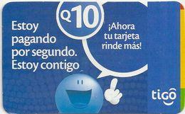 Guatemala - Tigo - Estoy Pagando, 10Q, 04.2009, GSM Refill, Used - Guatemala