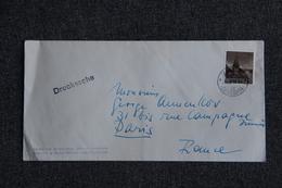 Lettre Du Liechtenstein, Théâtre OSKAR WERNER Vers France - Liechtenstein