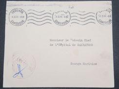 CAMEROUN - Enveloppe En Franchise Militaire De Yaoundé Pour Sanaga En 1960 - L 10117 - Cameroun (1960-...)