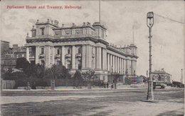 "Melbourne  "" Parliament House And  Treasury "" - Melbourne"