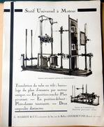 74 SAINT GENIS MEDECINE RADIOLOGIE  PHARMACIE CATALOGUE  MASSIOT RADIOPODOSTAT ROTOSCOPE RAYONS X 1930 - Autres