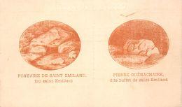 71 - St-Emiland - Fontaine De St-Emiland - Pierre Guénachaire Dite Buffet De St-Emiland - 2 Beaux Plans - France