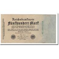 Allemagne, 500 Mark, 1922, KM:74c, 1922-07-07, TB+ - [ 3] 1918-1933 : Repubblica  Di Weimar