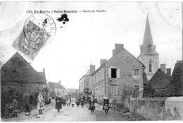 (18) SENS-BEAUJEU  - ROUTE DE NEUILLY 1906 - A100-15 - France