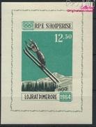 Albanien Block21 (kompl.Ausg.) Postfrisch 1963 Olymp. Winterspiele `64, Innsbruck (8927919 - Albanie