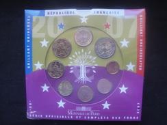 PLA /  EURO B U  France  Au Millésime 2007 En Coffret 8 Pièces Brillant Universel  / Livret Euros - Francia