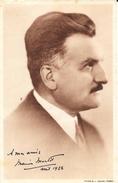 Fiche Elections Législatives 1928 - Marius Moutet, Député Du Rhône, Conseiller Général Né à Nîmes En 1876 - Andere
