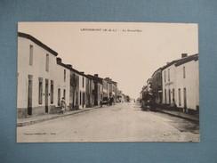 CPA 49 LANDEMONT LA GRANDE RUE - Sonstige Gemeinden