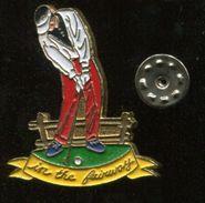 Pin's - GOLF In The Fairway - Golf