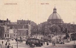 Amsterdam Haarlemmer Sluis # 1908 Tram Verkeer Volk   521 - Amsterdam