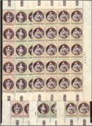 1969 San Marino Saint Marin NATALE  CHRISTMAS 30 Serie Di 3v. MNH** (20+10) - Natale