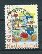 Netherlands Donald Duck,comics Used/gebruikt/oblitere - Periode 1980-... (Beatrix)