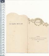 Menu Dépliant 1933 - Dîner De Mariage - Tours, La Riche - 2 Scans - Menus