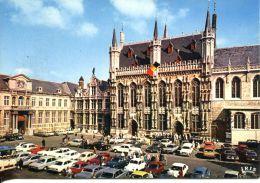 N°59962 -cpsm Bruges -nombreuses Voitures- - PKW