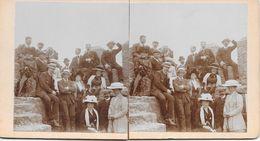 Stereoscoopfoto, Familiefoto, Ca. 1925 - Stereoscopic