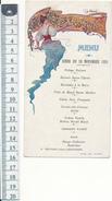 Menu 1921 - Montbazon, Indre Et Loire - Menus