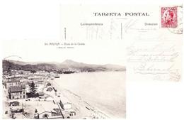 Malaga, Spain 1931 Vista De La Caleta - Málaga