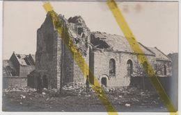 62 PAS DE CALAIS NOYELLES SOUS BELLONNE CARTE PHOTO ALLEMANDE MILITARIA 1914/1918 WK1 WW1 - Francia