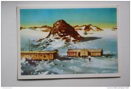 Antarctica. Antarctida. USSR Station.  1976 Postcard - Postcards