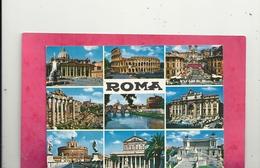 CPM. MULTIVUES DE ROME ECRITE AU VERSO - Multi-vues, Vues Panoramiques