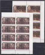 1992 San Marino Saint Marin GIOACCHINO ROSSINI 8 Serie Di 2v. MNH** In Blocco - Musica