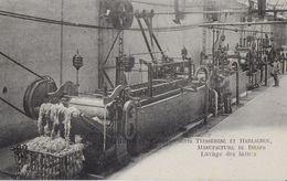 34 - Lodève - Etablissements Teisserenc & Harlachol - Manufacture De Draps - LAVAGE DES LAINES - Lodeve