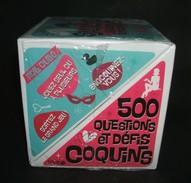 500 QUESTIONS Et DEFIS COQUINS Dans Leur Boîte - Neuf - Autres