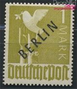 Berlin (West) 17a Geprüft Postfrisch 1948 Schwarzaufdruck (8984549 - Neufs