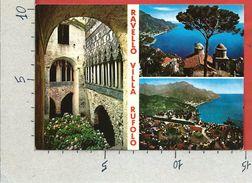 CARTOLINA NV ITALIA - RAVELLO (SA) - Villa Rufolo - Vedutine - 10 X 15 - Salerno