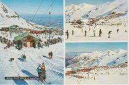 (NZ36)  CANTERBURY. MOUNT HUTT SKI FIELD - Nueva Zelanda