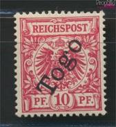 Togo (Dt. Kolonie) 3b Geprüft Mit Falz 1897 Aufdruckausgabe (9036645 - Kolonie: Togo
