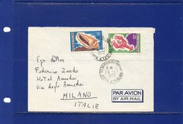 POSTAL HISTORY-Cote D'Ivoire-  1972 -   Airmail Cover To Italy - Costa D'Avorio (1960-...)