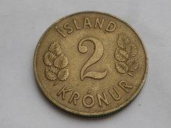 Islande 2 Kronur  1946  Km#13  Bronze-alu  TTB - Iceland