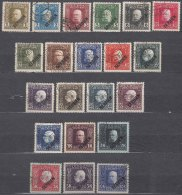 Austria Back Of Book, Feldpost, Occupation Of Serbia In WWI Serbien Overprint 1914/1916 Mi#22-42 Used - Usados