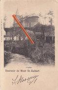 Souvenir De MONT SAINT GUIBERT - L'Eglise - Mont-Saint-Guibert