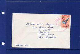 POSTAL HISTORY-Botswana-  1974 - Surface  Cover To New Zealand - Botswana (1966-...)