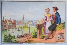 Belle Chromo. - Les Grandes Villes - HOLLANDE - AMSTERDAM - TBE - Altri