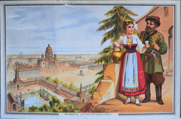 Belle Chromo. - Les Grandes Villes - RUSSIE - St-PETERSBOURG - TBE - Altri