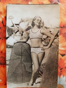 Spain  - NUDE BELLE , Nude - Naked - Nu - Pin-up - Old   Postcard  - Swimsuit - 1950s  - - Pin-Ups