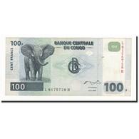 Congo Democratic Republic, 100 Francs, KM:92a, 2000-01-04, TTB - Congo