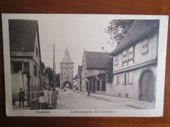Rosheim , Lowenstrasse Mit Lowentor ; Cachet Militaire - Other Municipalities