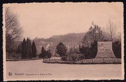 Watermael Watermaal Boitsfort Boisfort Bosvoorde Parc Et Monument Aux Morts Pour La Patrie Guerre 1914 1918 - Watermael-Boitsfort - Watermaal-Bosvoorde