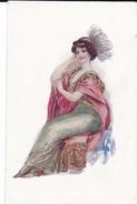 Grande Teinturerie De Morat, Succursale De Lausanne. Illustration Signée De Femme - Publicités